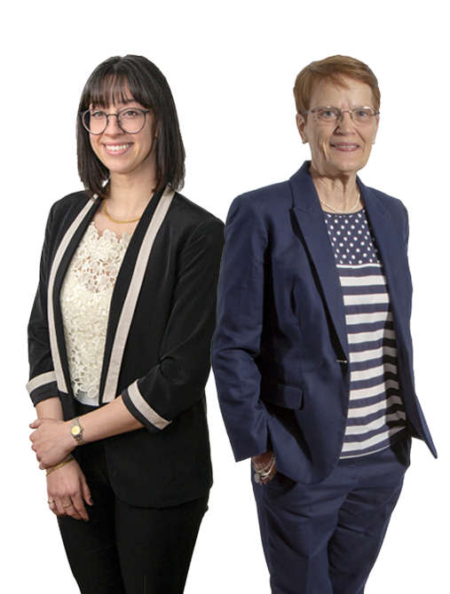 Mary Gaffney and Jillian Pagnotti image - MyCIL Service Coordination