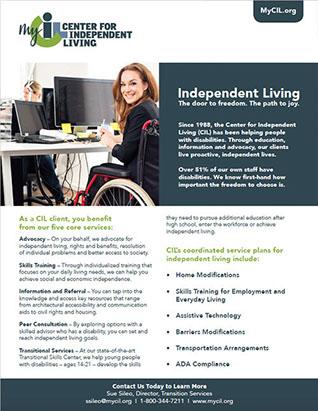 mycil independent living services program overview - Resources